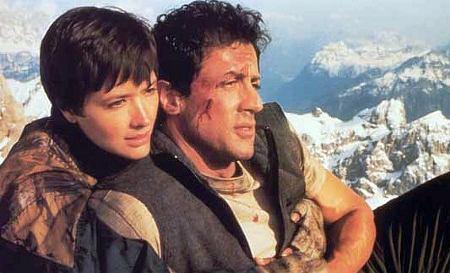 Janine Turner ja Sylvester Stallone