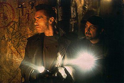 Arnold Schwarzenegger ja Kevin Pollak