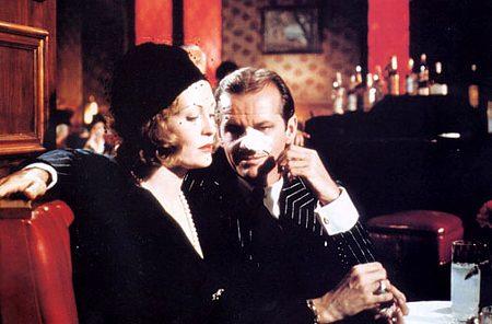 Jack Nicholson ja Faye Dunaway