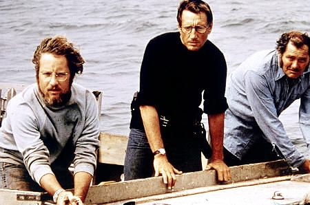 Richard Dreyfuss, Roy Scheider ja Robert Shaw