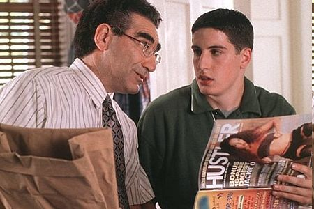 Eugene Levy ja Jason Biggs