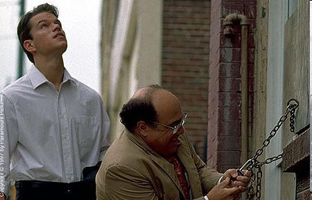 Matt Damon ja Danny DeVito