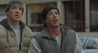 Tommy Morrison ja Sylvester Stallone