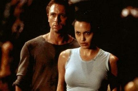 Daniel Craig ja Angelica Jolie