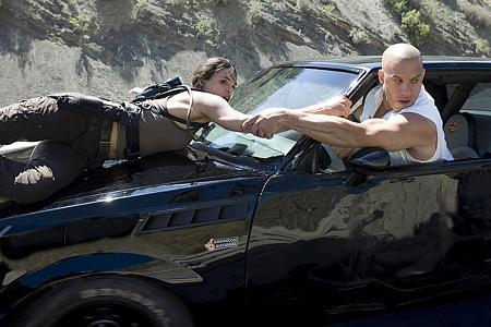 Michelle Rodriguez ja Vin Diesel