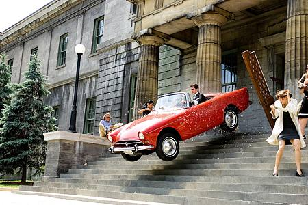 Maxwell Smart ja kuuluisa punainen auto