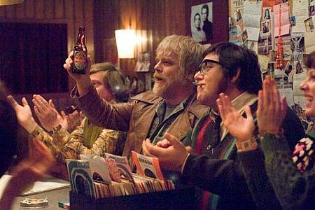 Philip Seymour Hoffman ja Nick Frost