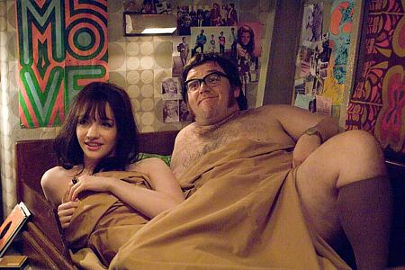 Talulah Riley ja Nick Frost