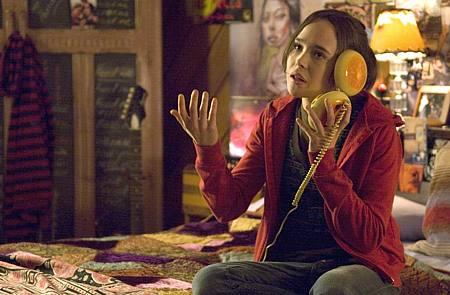 Ellen Page, eli Juno pulassa