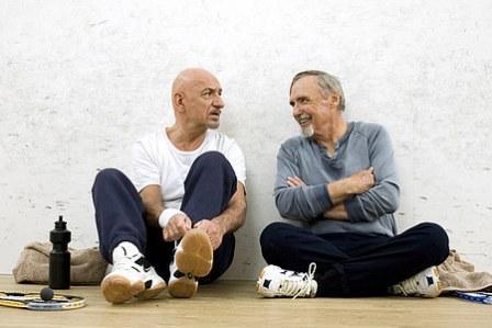 Ben Kingsley ja Dennis Hopper