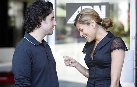 David Krumholtz ja Eva Mendes