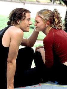 Heath Ledger ja Julia Stiles