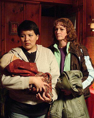 Melissa Leo ja Misty Upham