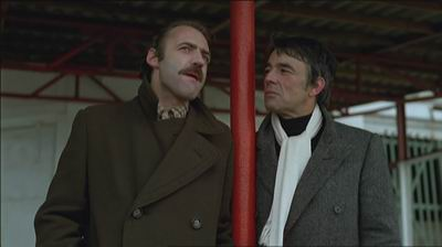 Bruno Ganz ja Gérard Plain