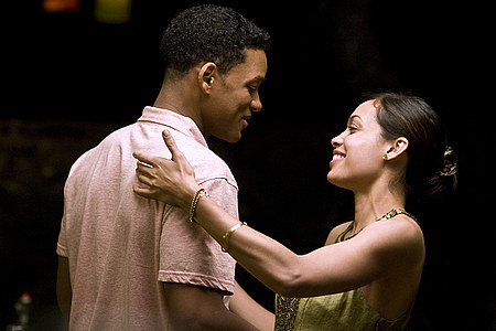 Will Smith ja Rosario Dawson