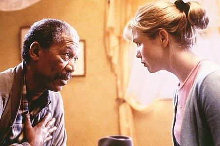 Morgan Freeman ja Renée Zellweger