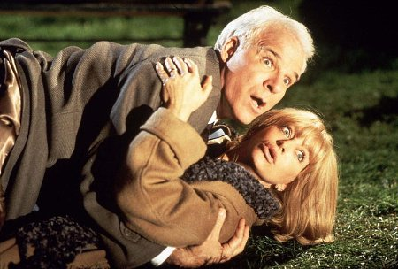 Steve Martinin ja Goldie Hawnin matka ei mene hyvin...