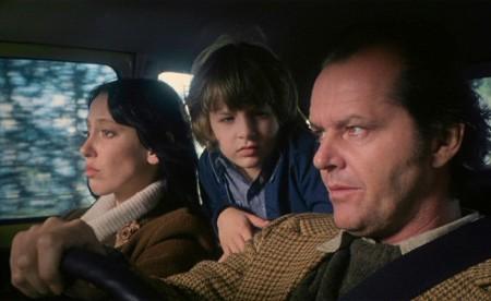 Shelley Duvall, Danny Lloyd ja Jack Nicholson