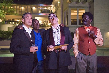George Clooney, Don Cheadle, Elliott Gould ja Bernie Mac