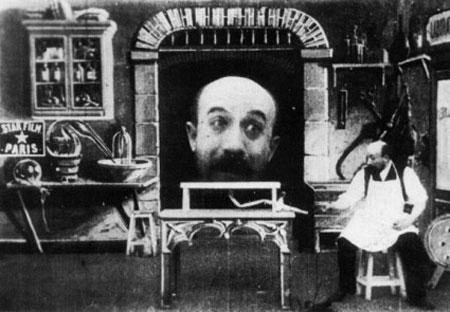 Georges Méliés: L'Homme à la tête en caoutchouc (1901)