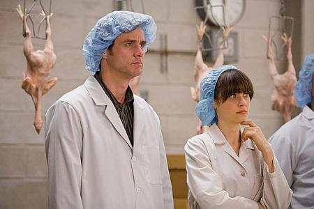 Jim Carrey ja Zooey Deschanel