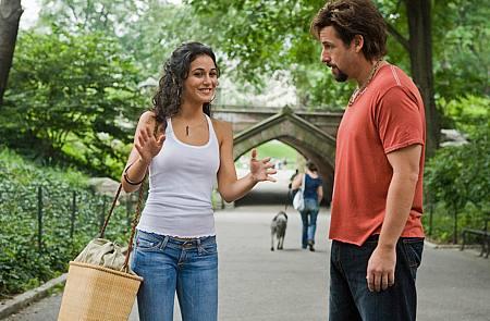 Emmanuelle Chriqui ja Adam Sandler