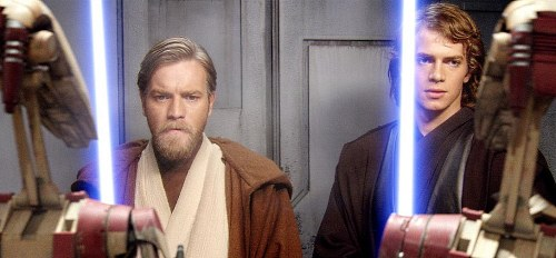 Ewan McGregor ja Hayden Christensen vielä yhdessä...