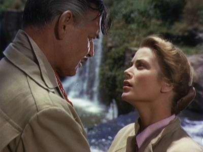 Clark Gable ja Grace Kelly