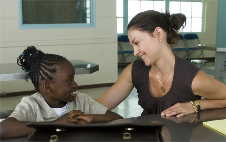 Ogechi Egonu ja Ashley Judd