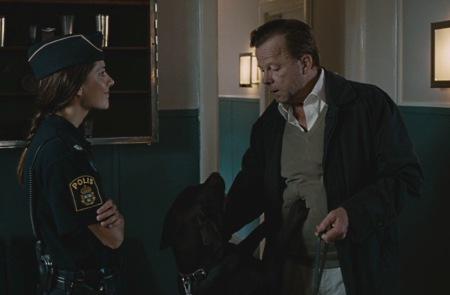 Nina Zanjani näyttelee innokasta poliisikokelasta