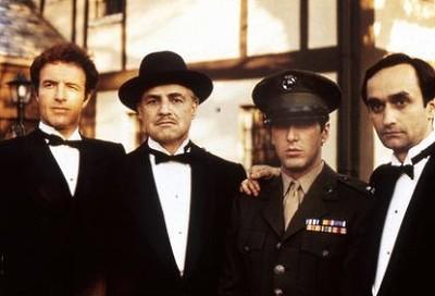 James Caan, Marlon Brando, Al Pacino ja John Cazale