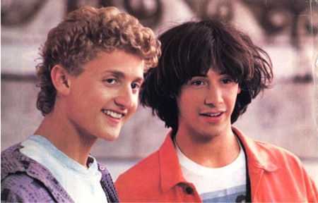 Bill (Alex Winter) ja Ted (Keanu Reeves)