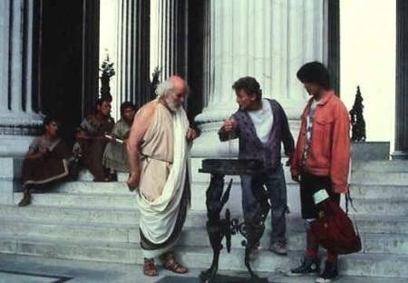 Sokrates (Tony Steedman), Bill ja Ted