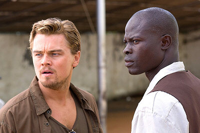 Leonardo DiCaprio ja Djimon Hounsou