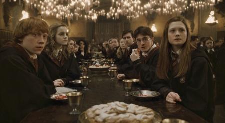 Rupert Grint, Emma Watson, Daniel Radcliffe ja Bonnie Wright