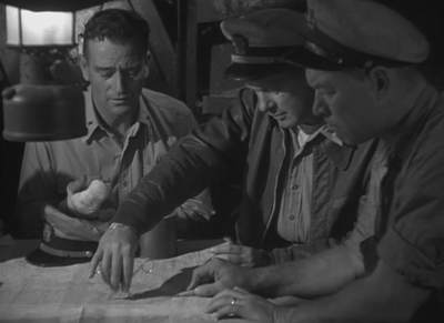 John Wayne, Robert Montgomery ja Ward Bond