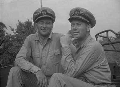 John Wayne ja Robert Montgomery