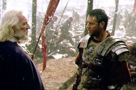 Richard Harris ja Russell Crowe