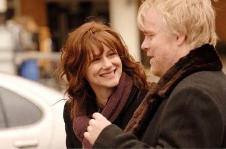 Laura Linney ja Philip Seymour Hoffman