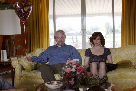Philip Seymour Hoffman ja Laura Linney