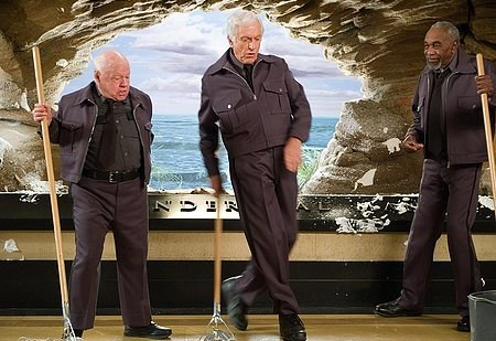 Mickey Rooney, Dick Van Dyke ja Bill Cobbs