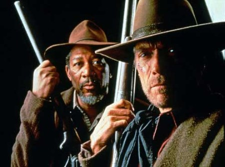 Morgan Freeman ja Clint Eastwood