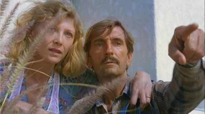 Aurore Clement ja Harry Dean Stanton
