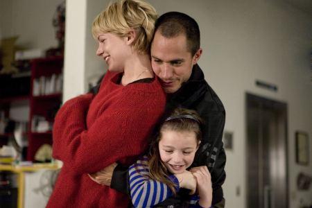 Onnellinen amerikkalainen perhe