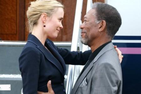 Morgan Freeman, Radha Mitchell