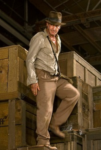 Harrison Ford Indiana Jonesina (C) Paramount Home Entertainment Finland