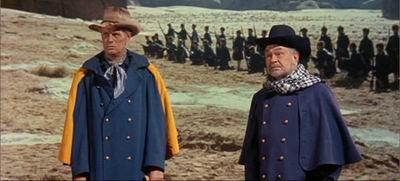 Richard Widmark ja Edward G. Robinson