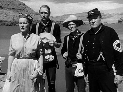 Maureen O'Hara, Claude Jarman Jr., Ben Johnson, Victor McLaglen