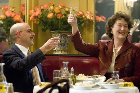 Stanley Tucci ja Meryl Streep
