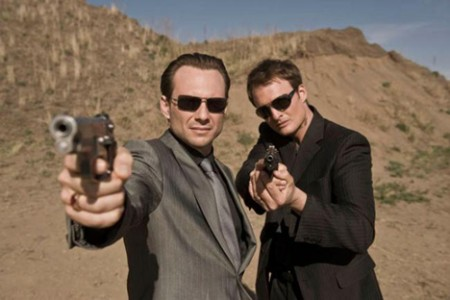 Christian Slater ja Greg Bryk